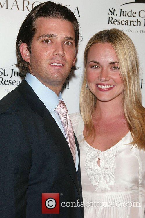 Donald Trump, Jr. and Vanessa Trump St. Jude's...