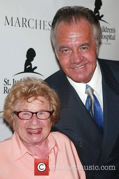 Dr. Ruth Westheimer and Tony Sirico St. Jude's...