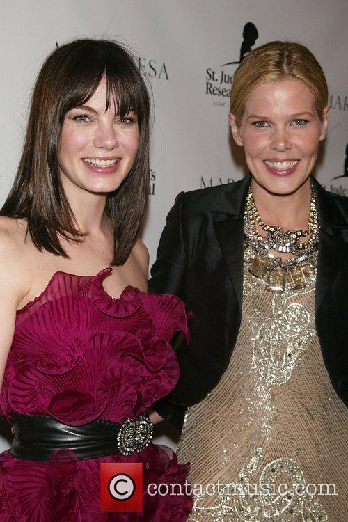 Michelle Monaghan and Mary Alice Stephenson St. Jude's...