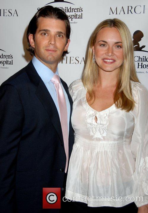 donald trump jr wife vanessa. donald trump jr. and his wife
