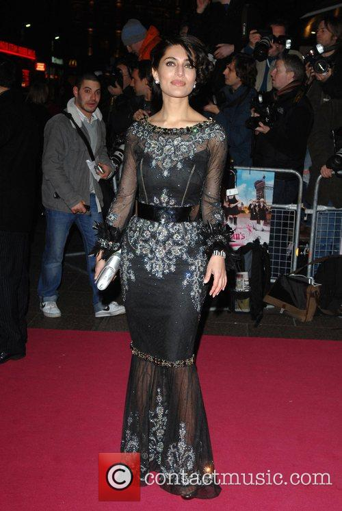 Caterina Mureno Premiere of 'St Trinian's' at Empire,...
