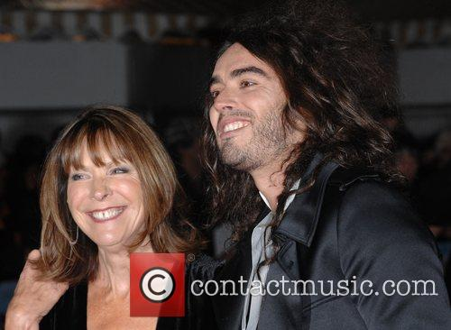 Russell Brand with mother Premiere of 'St Trinian's'...