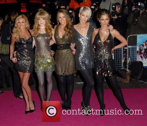 Nadine Coyle, Kimberley Walsh, Nicola Roberts and Sarah Harding
