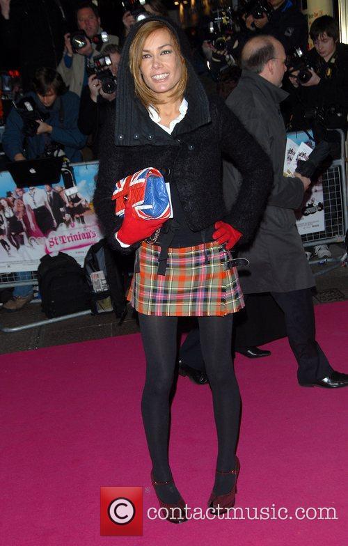 Tara Palmer Tomkinson Premiere of 'St Trinian's' at...