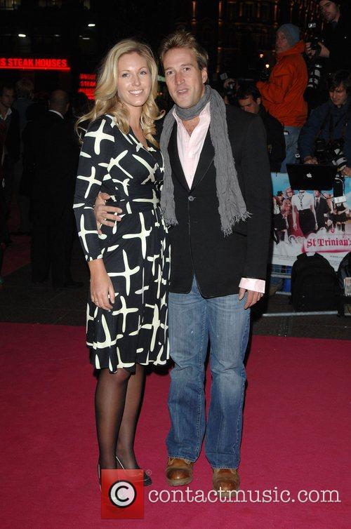 Ben Fogle and wife Marina Hunt Premiere of...