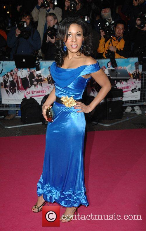 Kathryn Drysdale Premiere of 'St Trinian's' at Empire,...