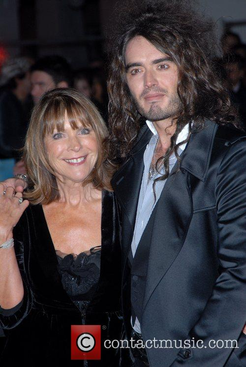 Russell Brand and guest Premiere of 'St Trinian's'...