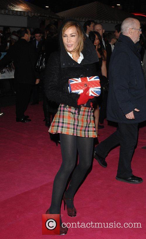 Tara Palmer Tompkinson Premiere of 'St Trinian's' at...