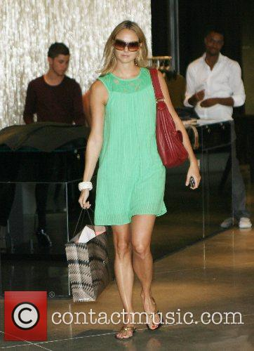 Stacy Keibler out shopping on Robertson Boulevard