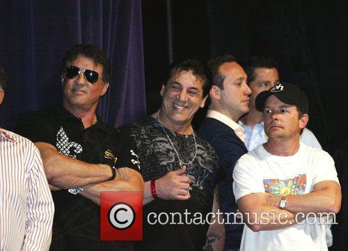 Sylvester Stallone, Chuck Zito and Michael J. Fox...