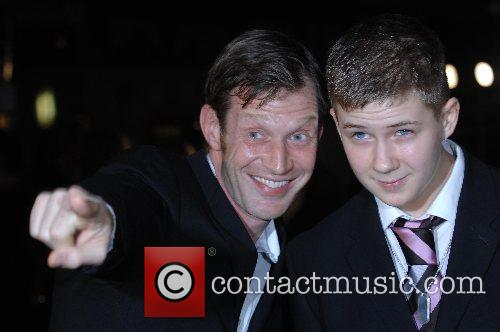 Jason Flemyng and guest UK film premiere of...