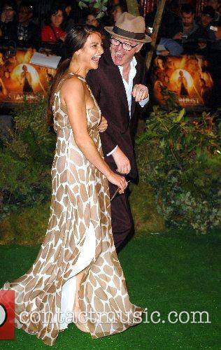 Chris Evans and Natasha Shishmanian UK film premiere...