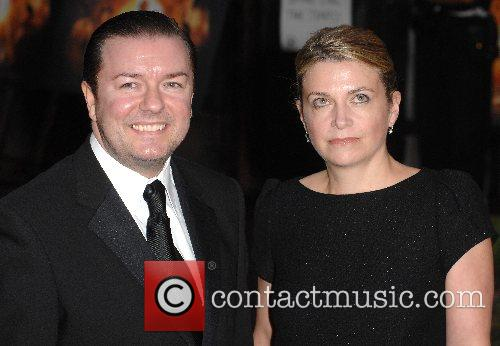 Ricky Gervais and Jane Fallon 5