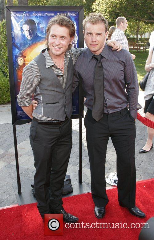 Mark Owen and Gary Barlow Los Angeles Premiere...