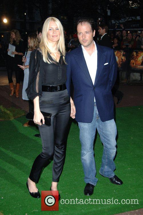 Claudia Schiffer and Guest 'Stardust' UK film premiere...