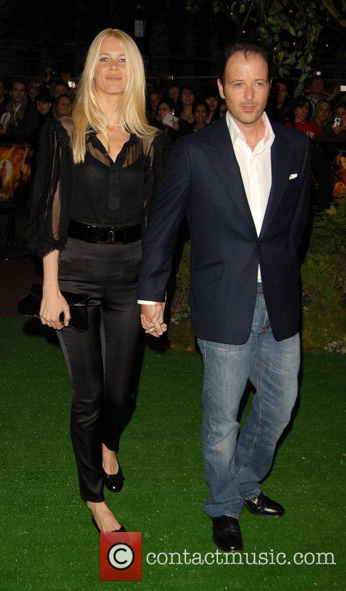 Claudia Schiffer and Matthew Vaughn 'Stardust' UK film...