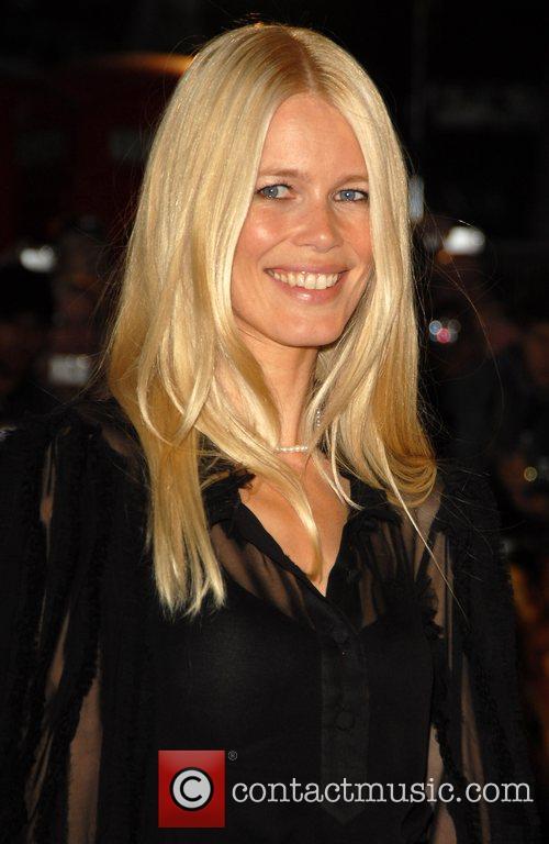 Claudia Schiffer 'Stardust' UK film premiere held at...