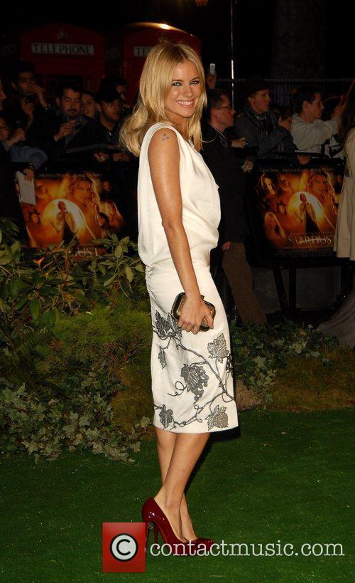 Sienna Miller 'Stardust' UK film premiere held at...