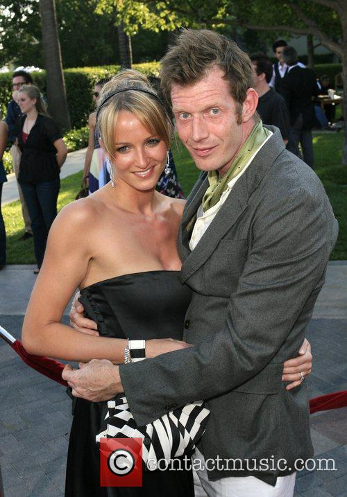 Jason Flemyng and guest Los Angeles premiere of...