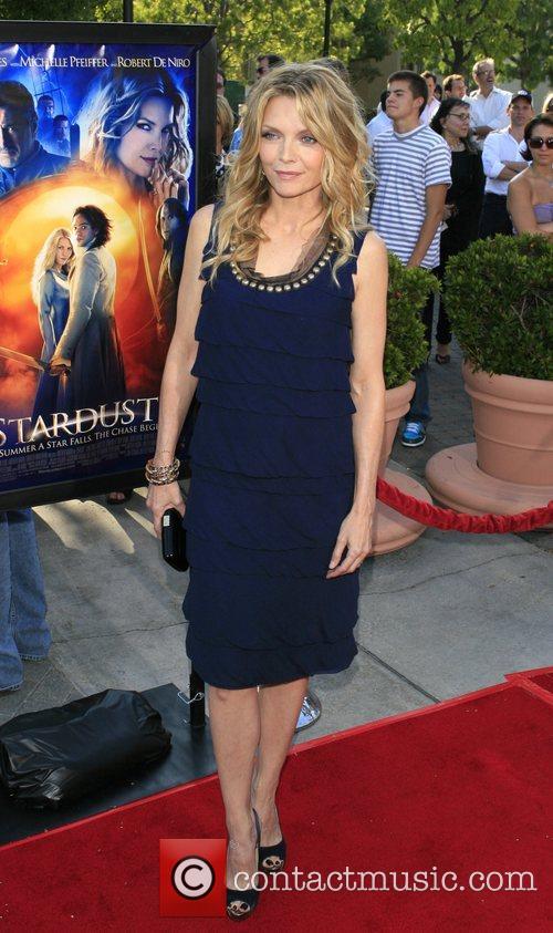 Michelle Pfeiffer Los Angeles premiere of 'Stardust' held...