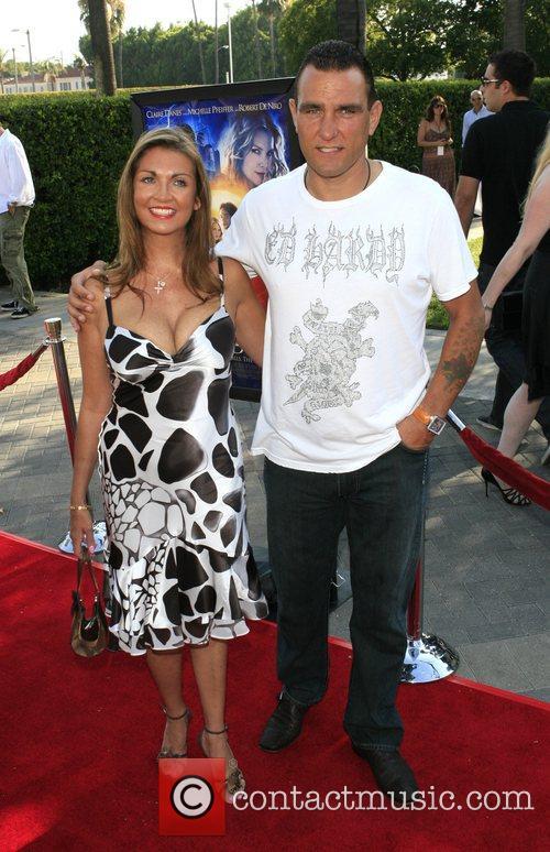 Vinnie Jones and wife Tanya Jones  Los...