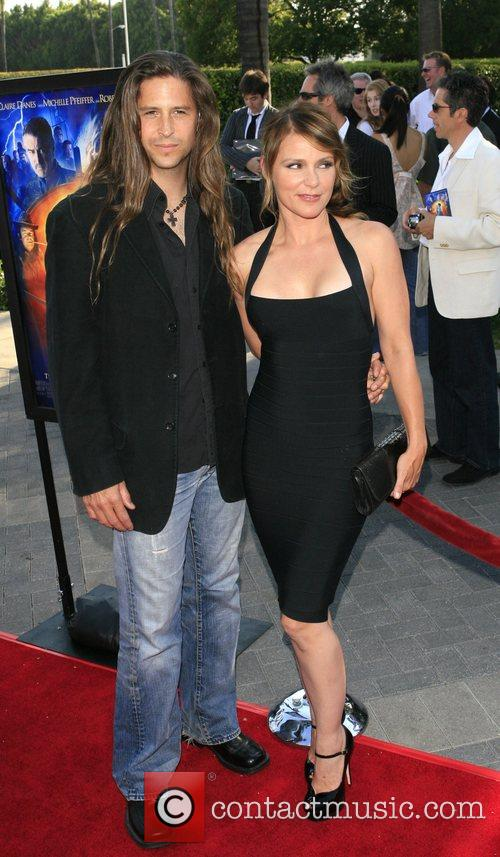 Dedee Pfeiffer and guest Los Angeles premiere of...