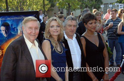 Sumner Redstone,Michelle Pfeiffer, Robert DeNiro, with wife Grace...
