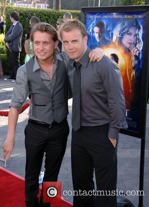 Mark Owen and Gary Barlow from Take That...