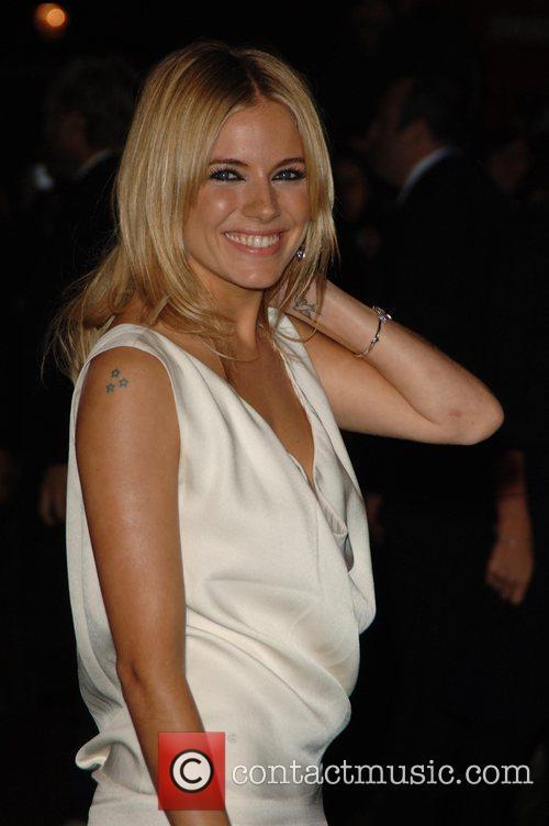 Sienna Miller UK film premiere of 'Stardust' held...