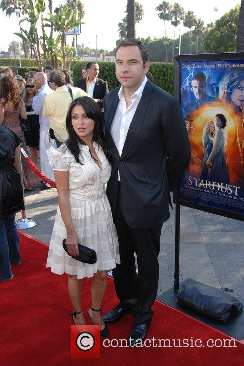 David Walliams and guest Los Angeles Premiere of...