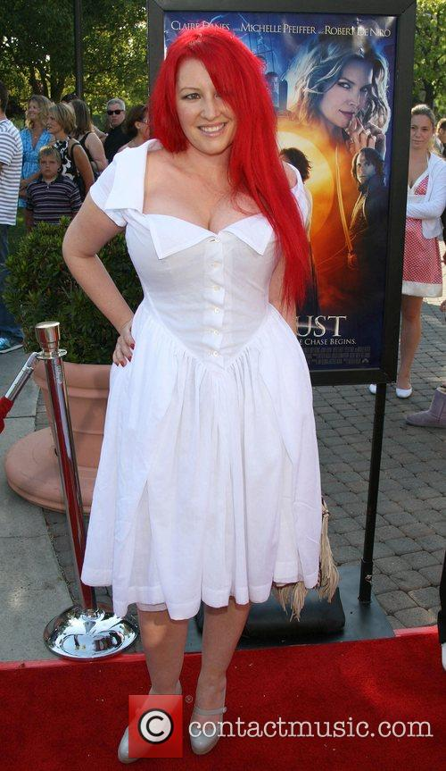 Jane Goldman  LA Premiere of 'Stardust' held...