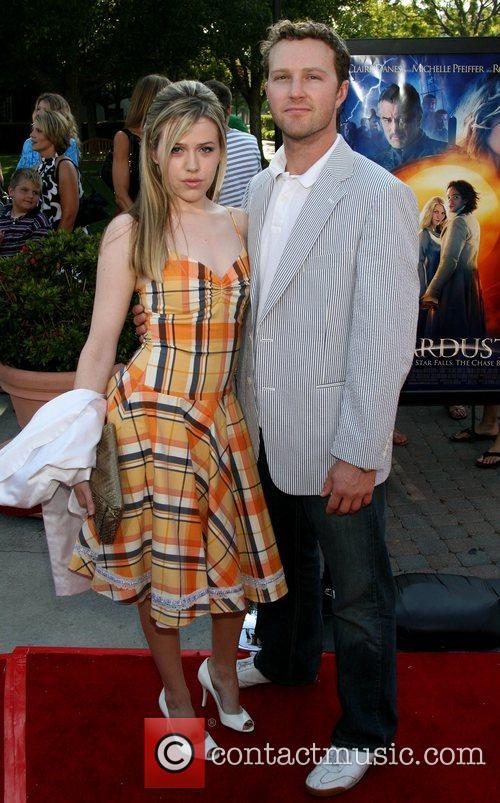 Majandra Delfino and guest LA Premiere of 'Stardust'...