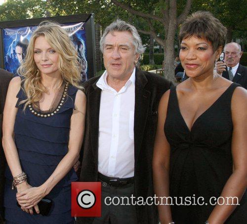 Michelle Pfeiffer,Robert Deniro and Grace Hightower  LA...