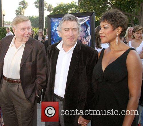 Sumner Redstone,Robert Deniro and Grace Hightower  LA...