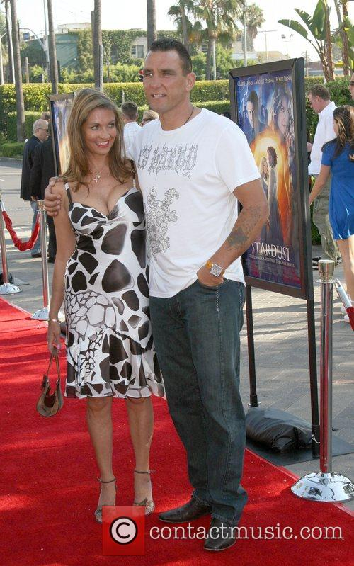 Vinnie Jones and Tanya Jones  LA Premiere...
