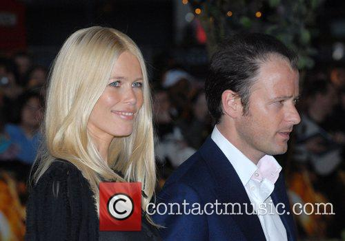 Claudia Schiffer and Matthew Vaughn at 'Stardust' -...