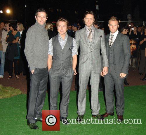 Jason Thomas Orange, Mark Owen, Howard Donald and...