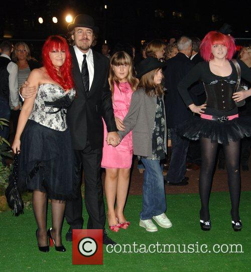 Jonathan Ross and Jane Goldman with family at...