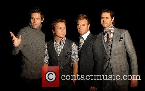 Jason Orange, Mark Owen, Gary Barlow and Howard...
