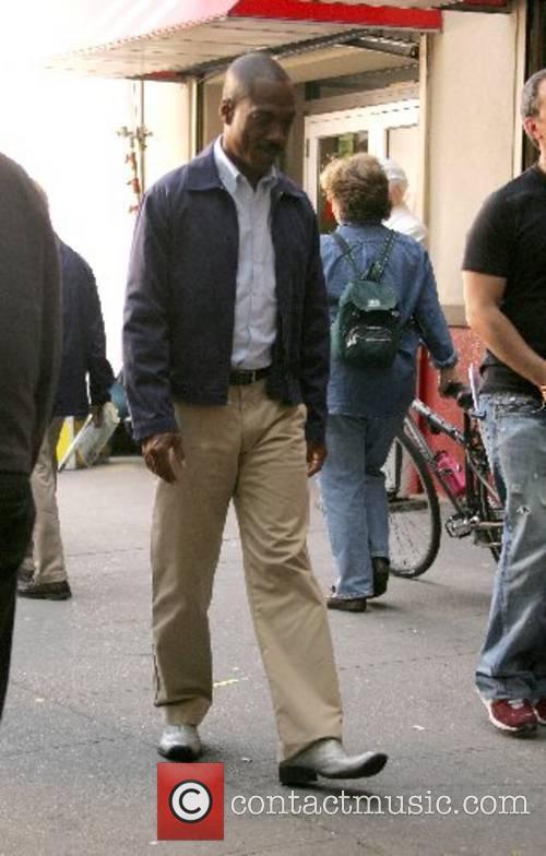 Golden Globe Award-winning actor and comedian Eddie Murphy...