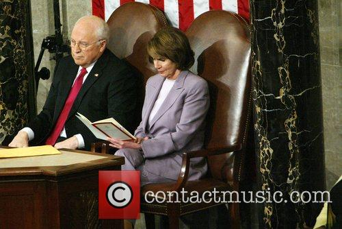 Vice President Dick Cheney and Speaker of the...