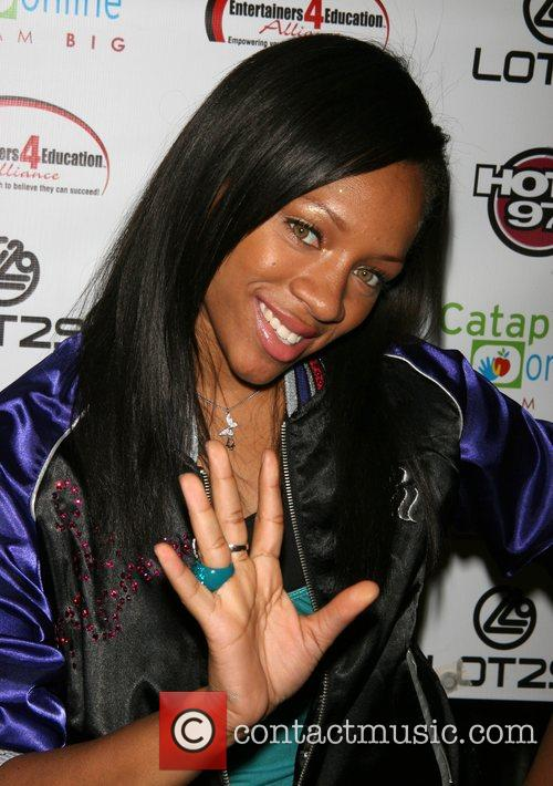Lil Mama The 2nd Annual Stay-In-School concert held...
