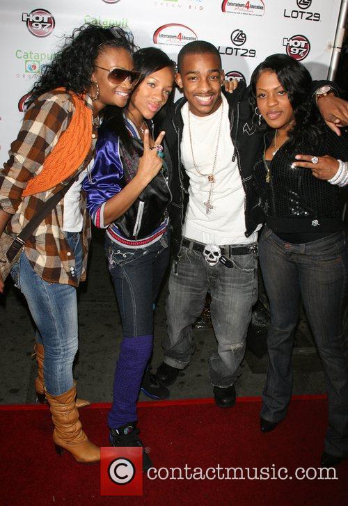Tweedy, Lil Mama, Darnell Williams and Lil Mo...
