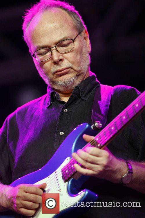Walter Becker of Steely Dan during their performance...