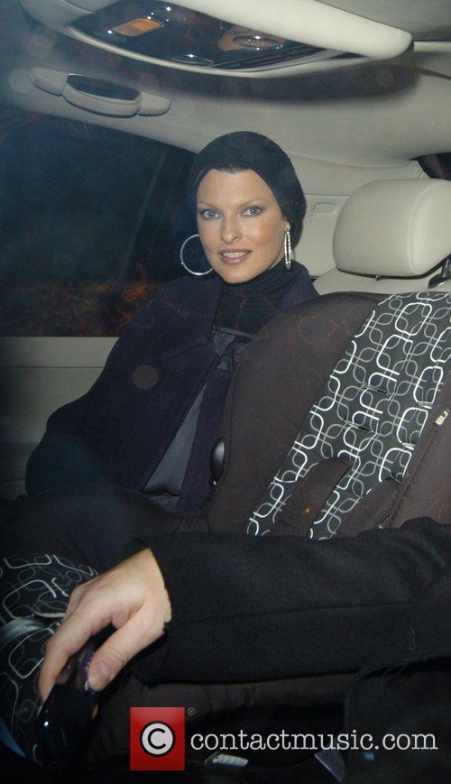 Linda Evangelista ,  Stella McCartney switching on...