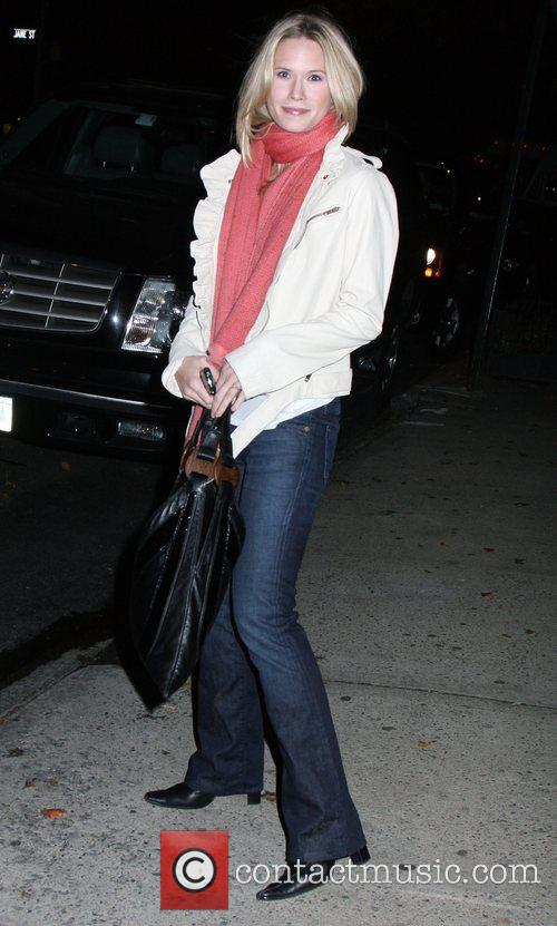 Stephanie March out and about at Greenwich Village