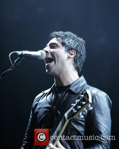 Adam Zindani of the Stereophonics performing in concert...
