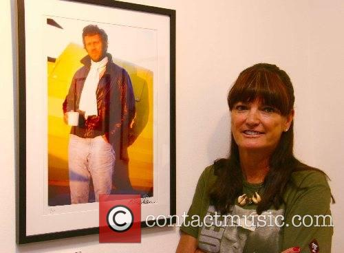 Barbara McQueen at the opening of 'The Last...