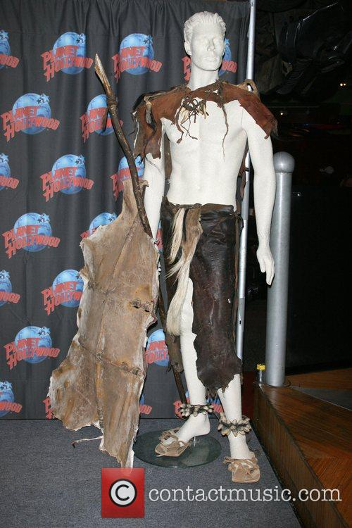 Steven Strait donates costumes from his new film,...