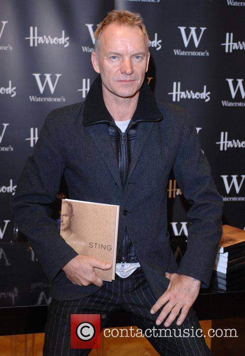 Book signing of 'Lyrics' at Waterstone's Harrods